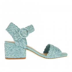 MARIBA LIGHT BLUE SANDAL