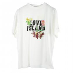 LOVE ISLAND WHITE T SHIRT