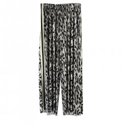 WHITE ANIMALIER TROUSERS