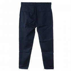 BLUE TROUSERS WITH POCKETS