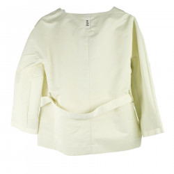 CREAM SHORT JACKET