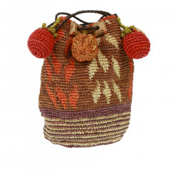 MULTICOLOR BUCKET BAG