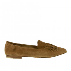 BROWN FLAT SHOE LOAFER