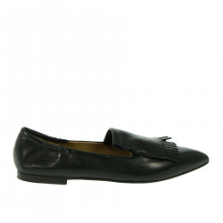 BLACK FLAT SHOE LOAFER