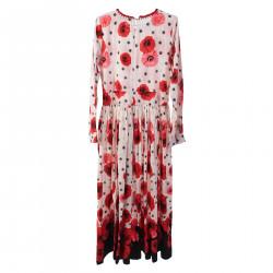 JOY PINK FLORAL DRESS