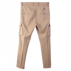 BEIGE TROUSERS IN COTTON