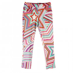 MULTICOLOR TROUSERS WITH FANTASY