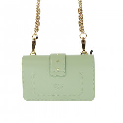 WATER GREEN CROSSBODY BAG WITH STRASS