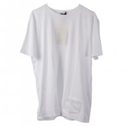 WHITE T SHIRT IN COTTON