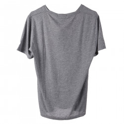 GRAY T SHIRT WITH POCKET