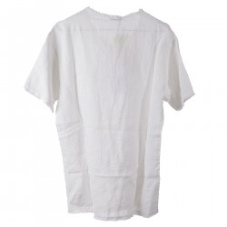 WHITE SWEATER WITH BREAST POCKET