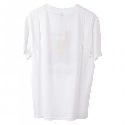 WHITE T SHIRT WITH DESIGN