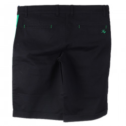 BLACK AND GREEN BERMUDA
