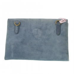 SUEDE SHOULDERBAG