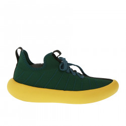 GREEN AND YELLOW SNEAKERS
