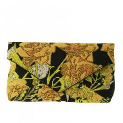 FLOWERS CLUTCH BAG