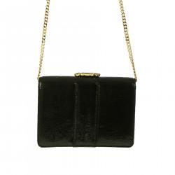 JEWEL BLACK CLUTCH BAG
