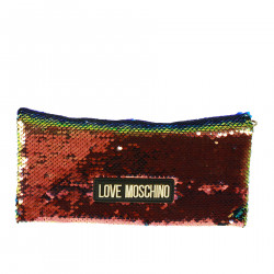 CLUTCH WITH PAILLETTES MULTICOLOR