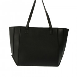GOLD AND BLACK SHOPPING BAG