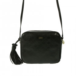 BLACK SHOULDERBAG