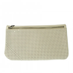 BEIGE CLUTCH BAG