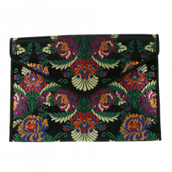 FLOWERS CLUTCH BAG