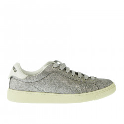 SNEAKERS GLITTER ARGENTO