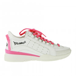 SNEAKERS BIANCA E ROSA FLUO