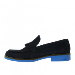 BLUE SUEDE LOAFER