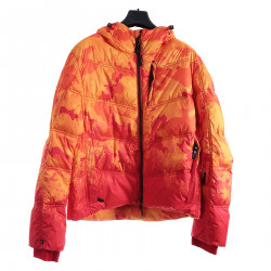 ORANGE PADDED JACKET