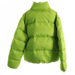 GREEN FLUO PADDED JACKET