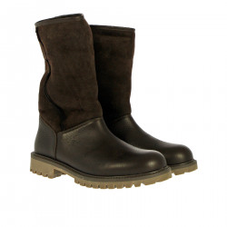 BROWN ANKKLE BOOT