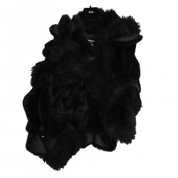 BLACK ECO FUR