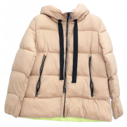 BEIGE DOWN JACKET