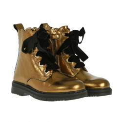GOLD BOOTS