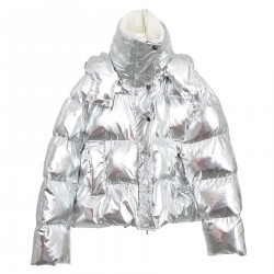 SILVER DOWN JACKET