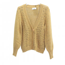 OCRA YELLOW CARDIGAN