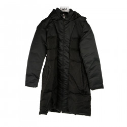 BLACK COAT PADDED JACKET