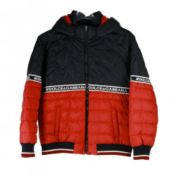 RED AND BLUE DOWN JACKET