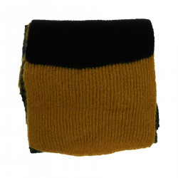BLACK AND YELLOW SCARF