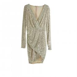 LIGHT GOLD DRESS
