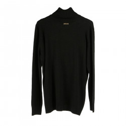 BLACK HIGHNECK SWEATER
