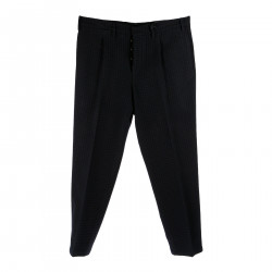 BLUE AND BLACK PANTS