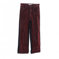 RED AND BLUE TROUSERS