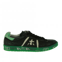 BLACK AND GREEN SNEAKERS