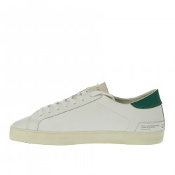 WHITE AND GREEN SNEAKERS