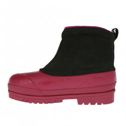 BLACK PLUM ANKLE BOOT