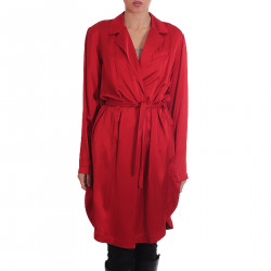 RED DRESSING GOWN