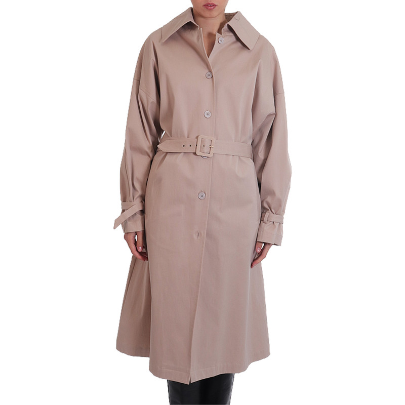 BEIGE LONG TRENCH