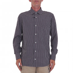 CHECKED RED SHIRT IN COTTON